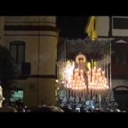 Amargura entra en plaza Virgen del valle